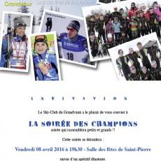 invitation ski club 2016
